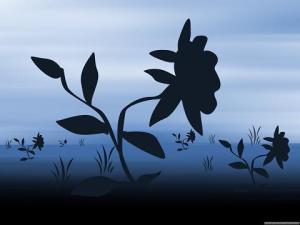 flower-silhouette
